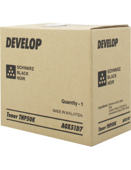 Toner Originale Develop TNP50K A0X51D7 (Nero 5000 pagine)