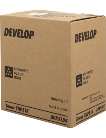 Toner Originale Develop TN51C A0X54D5 (Ciano 5000 pagine)