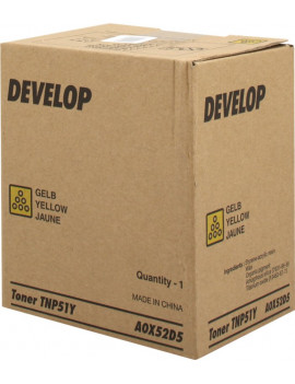 Toner Originale Develop TNP51Y A0X52D5 (Giallo 5000 pagine)
