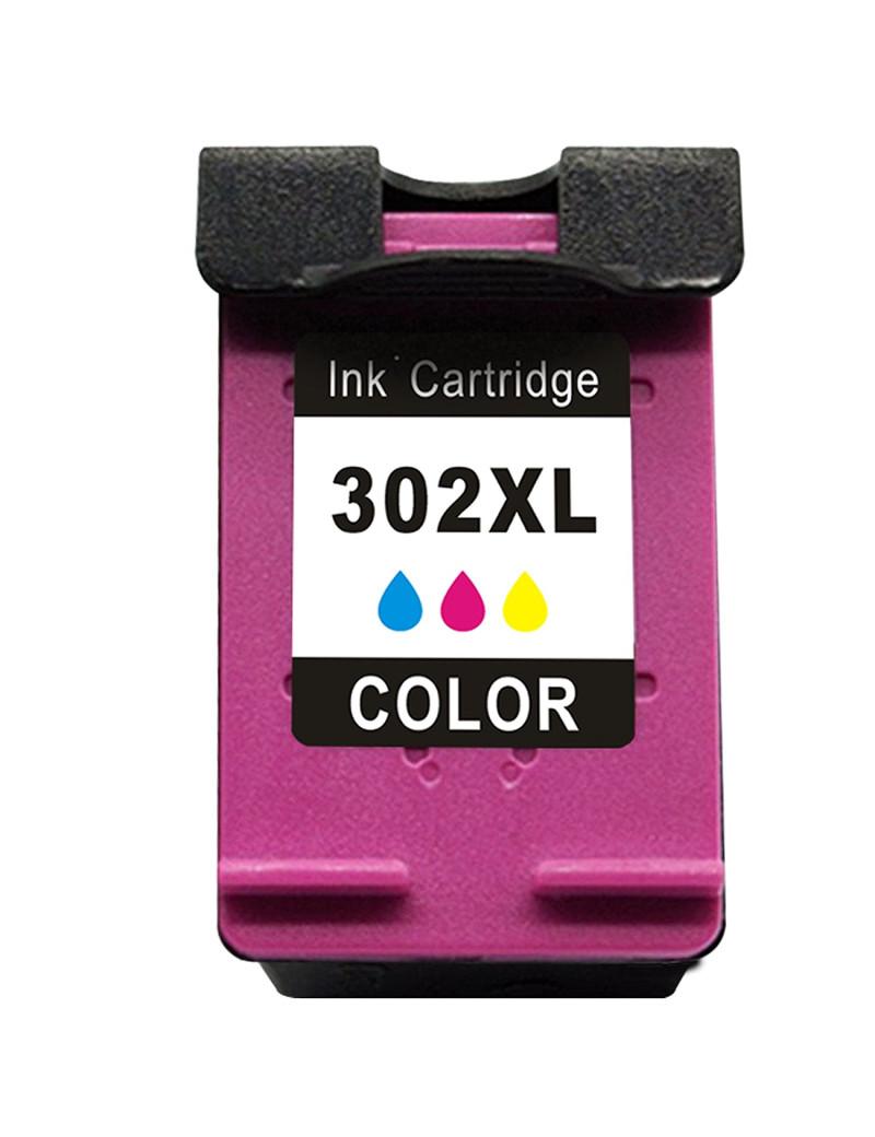 Cartuccia Compatibile HP F6U67AE 302XL (Colore 330 pagine)