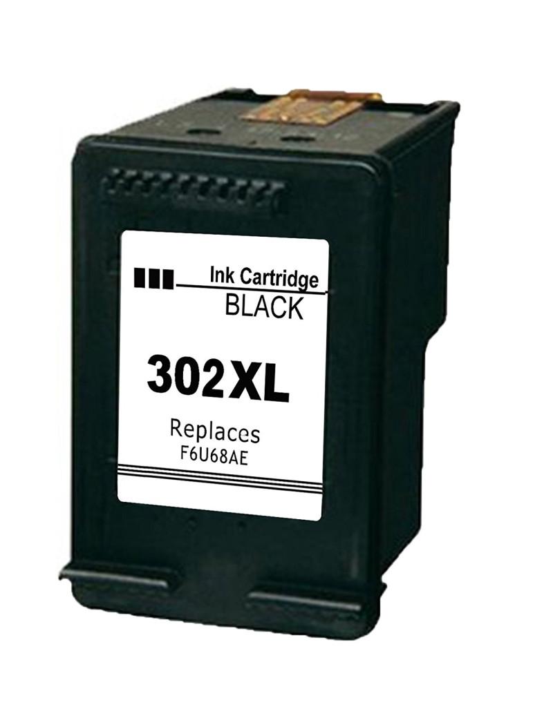 Cartuccia Compatibile HP F6U68AE 302XL (Nero 480 pagine)