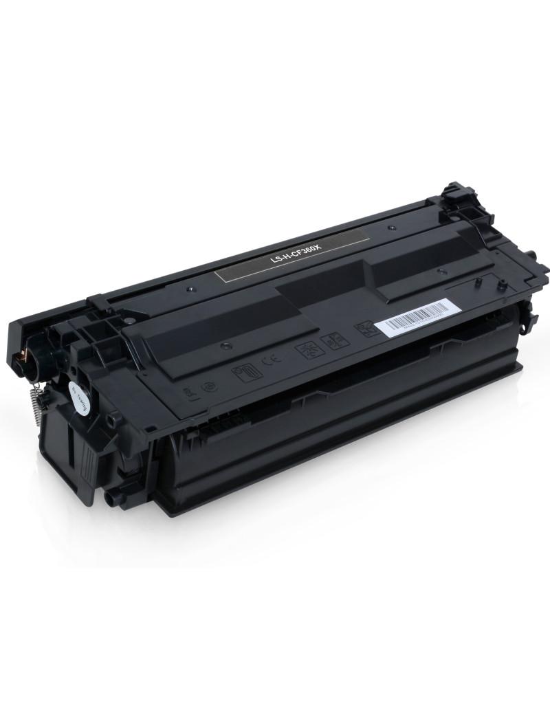 Toner Compatibile HP CF360X 508X (Nero 12500 pagine)