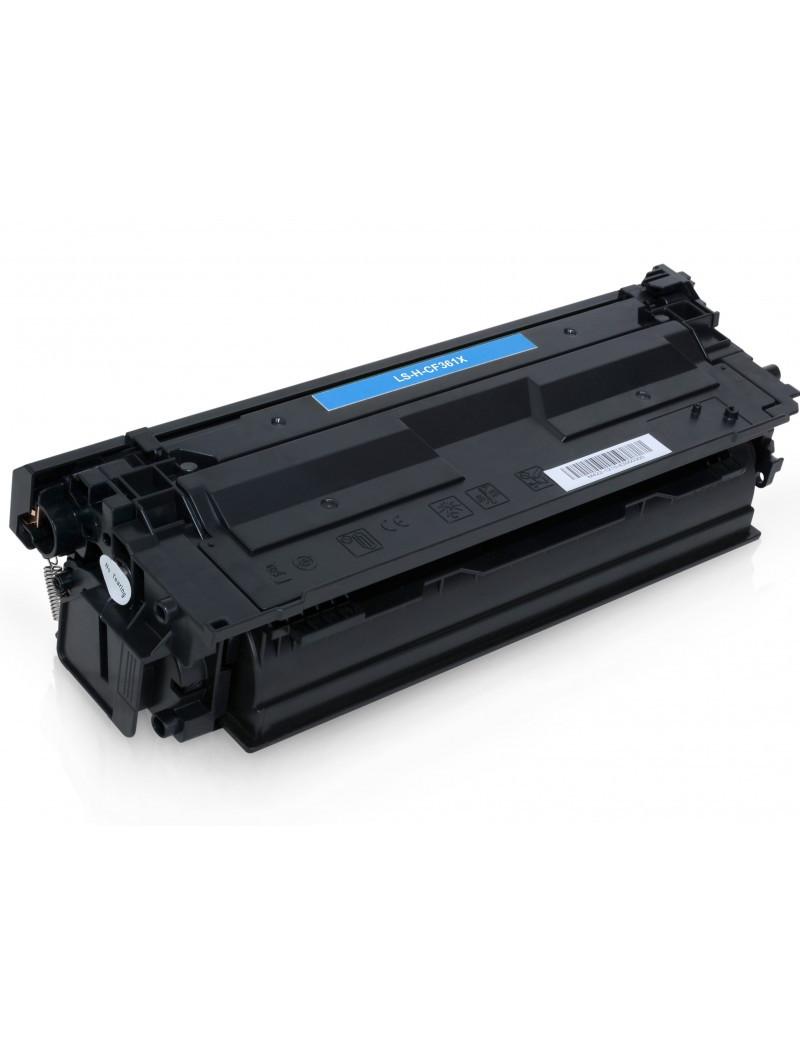 Toner Compatibile HP CF361X 508X (Ciano 9500 pagine)