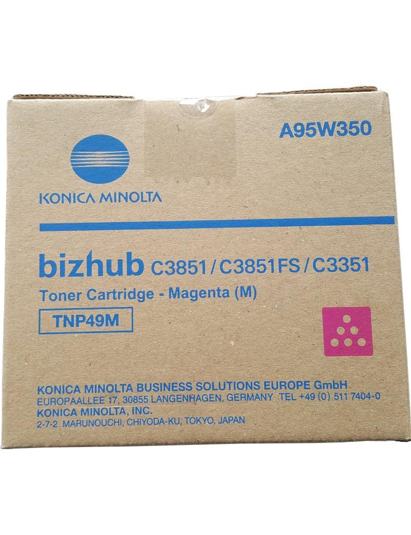 Toner Originale Konica Minolta TNP49M A95W350 (Magenta 12000 pagine)