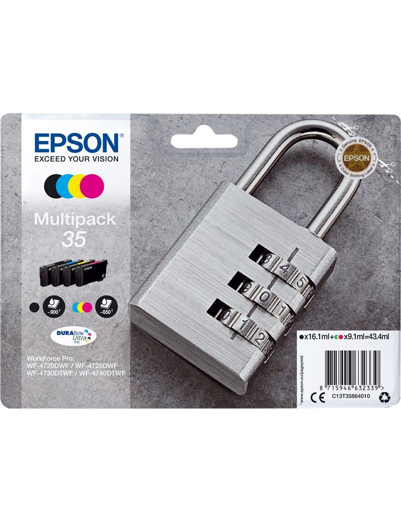Multipack Cartucce Originali Epson T358640 35 (Nero e Colori)