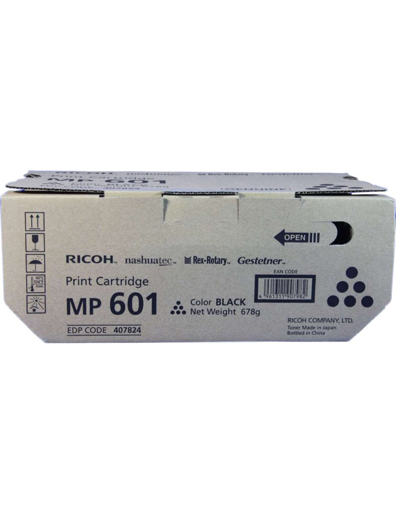 Toner Originale Ricoh 407824 MP 601 (Nero 25000 pagine)