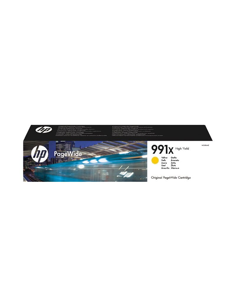 Toner Originale HP M0J98AE 991X (Giallo 16000 pagine)