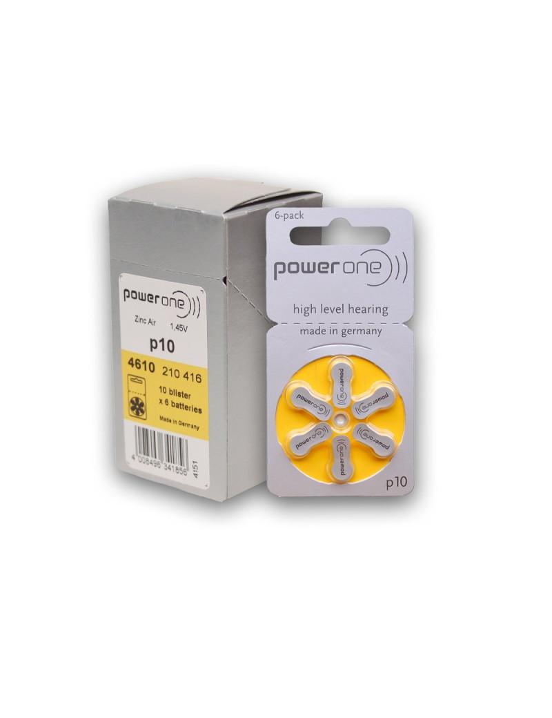 Batterie Varta Power One PR70 per Apparecchi Acustici - 1,45 V (Conf. 60)
