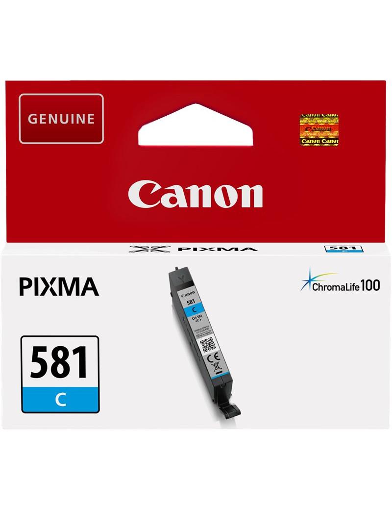 Cartuccia Originale Canon CLI-581c 2103C001 (Ciano 260 pagine)