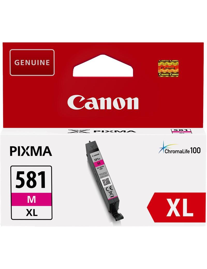 Cartuccia Originale Canon CLI-581m XL 2050C001 (Magenta 465 pagine)