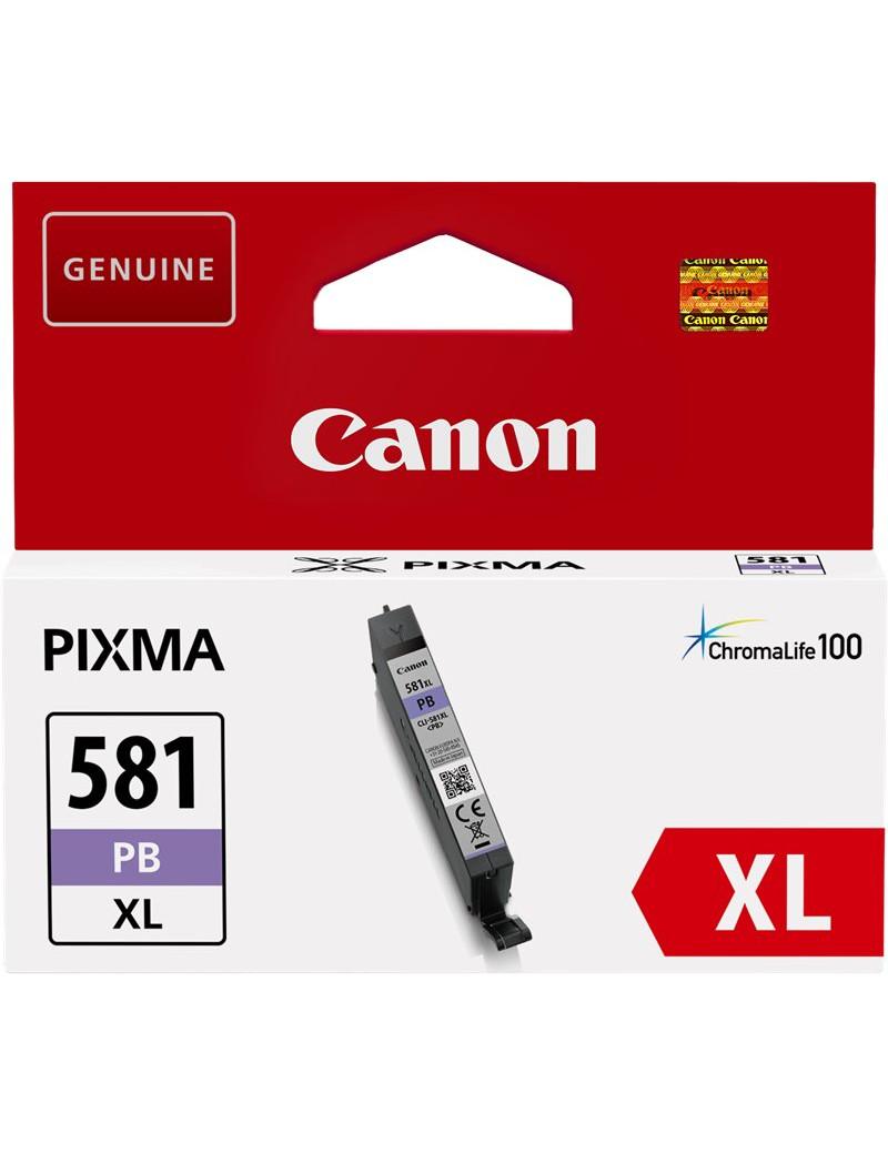 Cartuccia Originale Canon CLI-581pb XL 2053C001 (Blu Foto 4710 pagine)