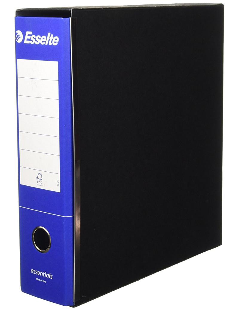 Registratore Essentials G73 Esselte - Commerciale - Dorso 8 - 23x30 cm - 390773050 (Blu Conf. 6)