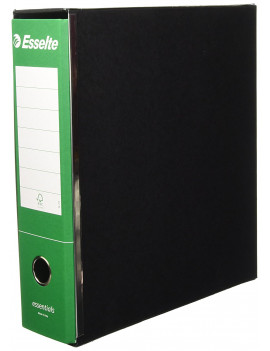 Registratore Essentials G73 Esselte - Commerciale - Dorso 8 - 23x30 cm - 390773180 (Verde Conf. 6)