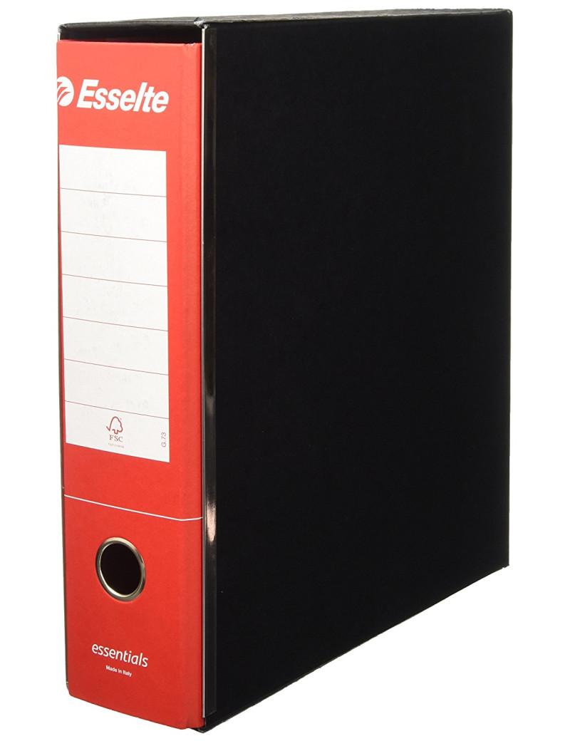 Registratore Essentials G75 Esselte - Protocollo - Dorso 8 - 23x33 cm - 390775160 (Rosso Conf. 6)