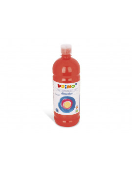 Tempera Brillante Primo - 1000 ml (Rosso Scarlatto)