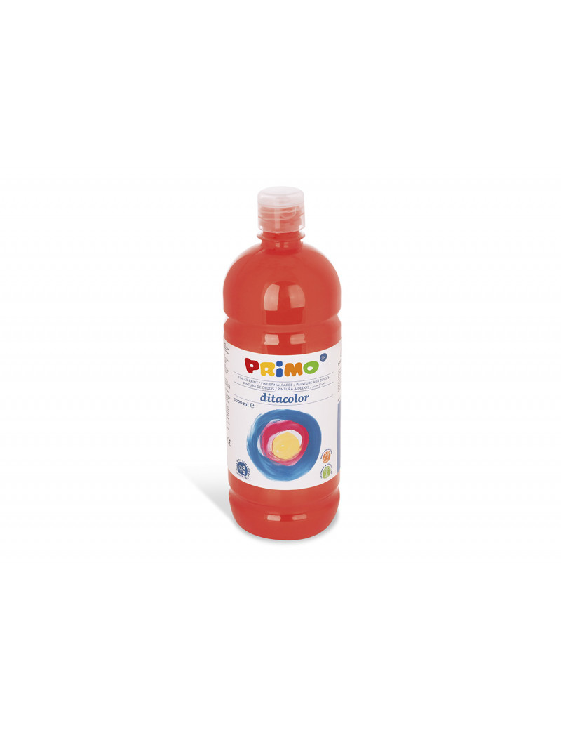 Tempera Brillante Primo - 1000 ml (Rosso Scarlatto)