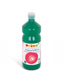 Tempera Brillante Primi Passi Primo - 1000 ml (Verde Scuro)