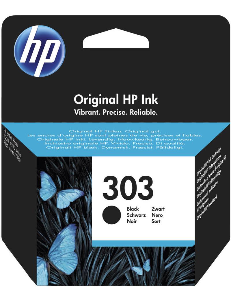 Cartuccia Originale HP 303 T6N02AE (Nero 200 pagine)