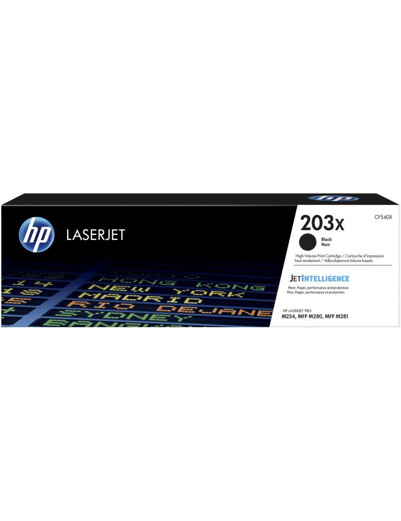 Toner Originale HP CF540X 203X (Nero 3200 pagine)