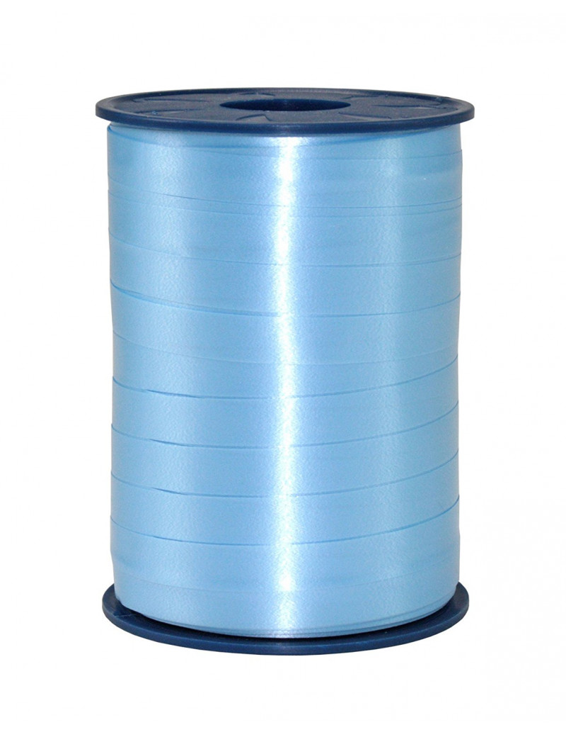 Nastro in Rocchetto per Regali Bolis - 10 mm x 250 m (Azzurro)