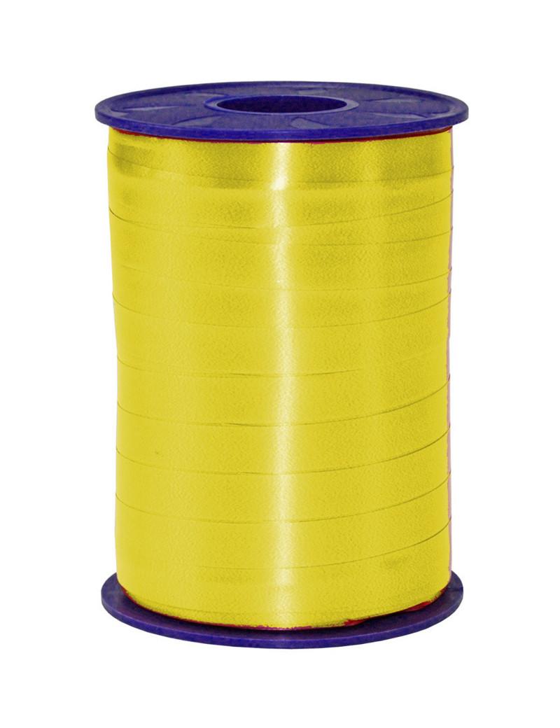Nastro in Rocchetto per Regali Bolis - 10 mm x 250 m (Giallo)
