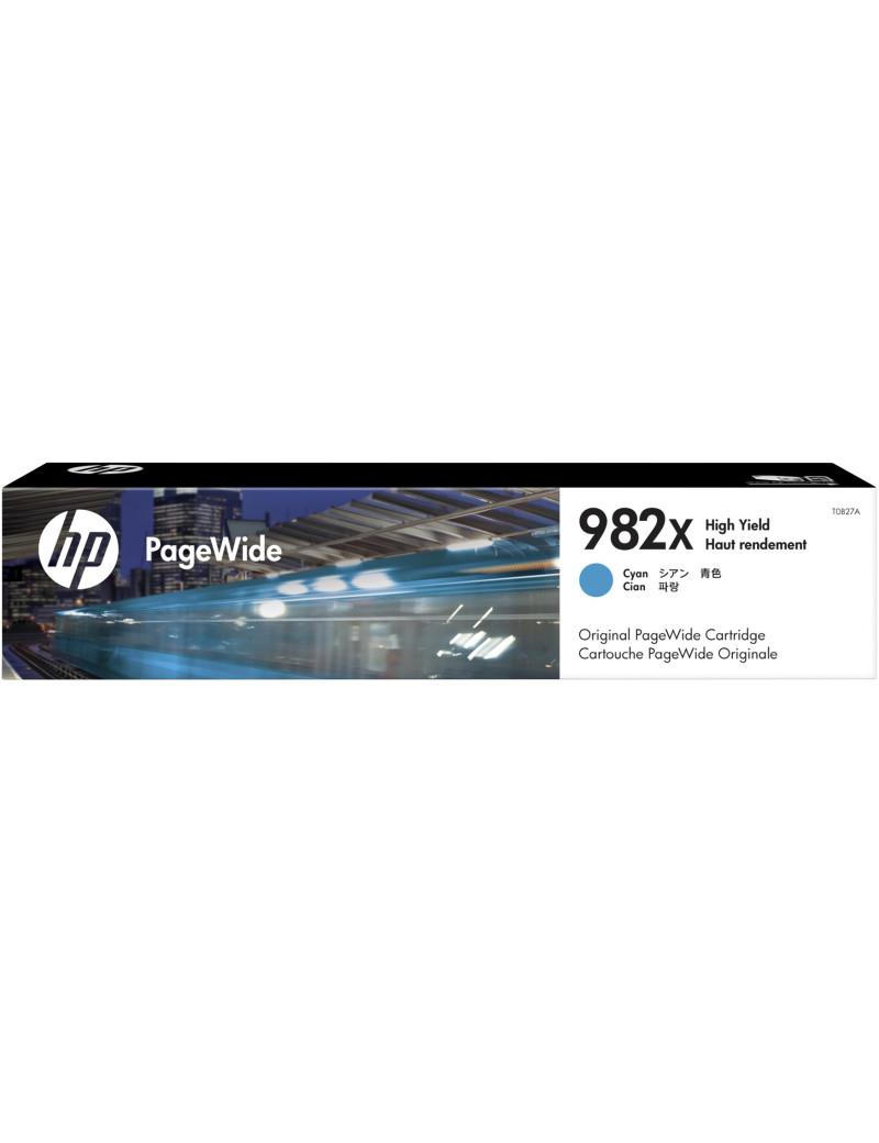 Toner Originale HP T0B27A 982X (Ciano 16000 pagine)