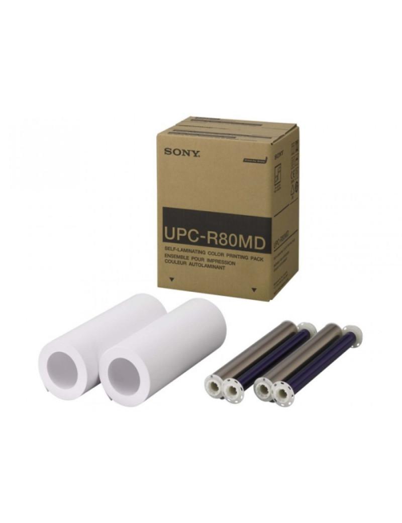 Pacchetto Stampa Originale Sony UPC-R80MD - Autolaminante A4 (Colori Conf. 2)