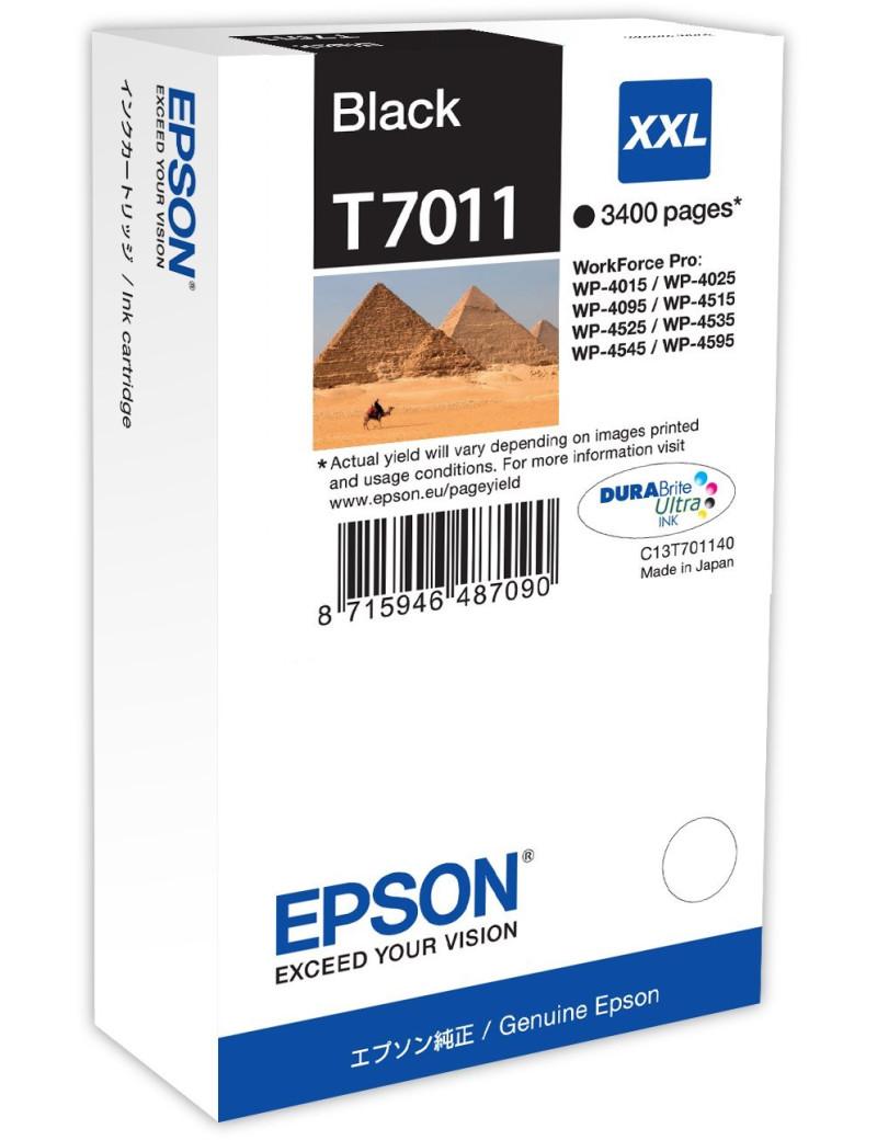 Cartuccia Originale Epson T701140 (Nero 3400 pagine)