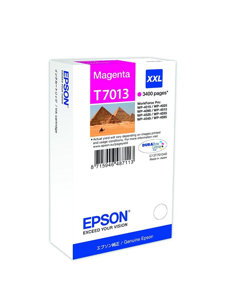 Cartuccia Originale Epson T701340 (Magenta 3400 pagine)