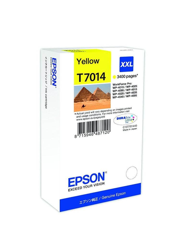 Cartuccia Originale Epson T701440 (Giallo 3400 pagine)
