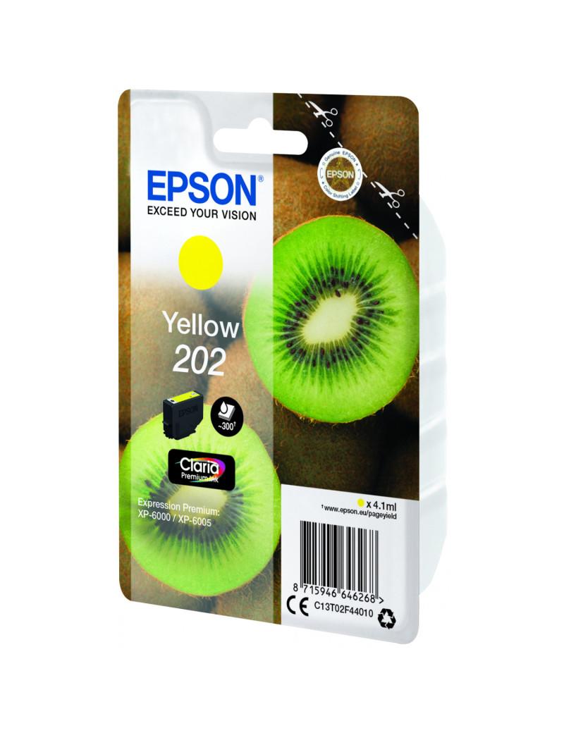 Cartuccia Originale Epson T02F440 202 (Giallo 300 pagine)