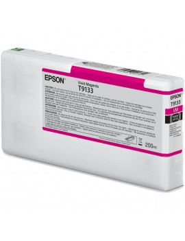 Cartuccia Originale Epson T913300 T9133 (Magenta 200 ml)