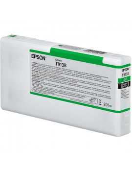 Cartuccia Originale Epson T913B00 (Verde 200 ml)