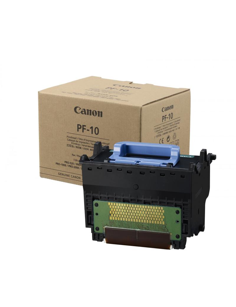 Testina di Stampa Originale Canon PF-10 0861C001 (Nero Ciano Magenta Giallo)