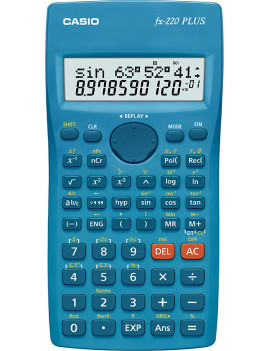 Calcolatrice Scientifica Casio FX-220-S (Azzurro)