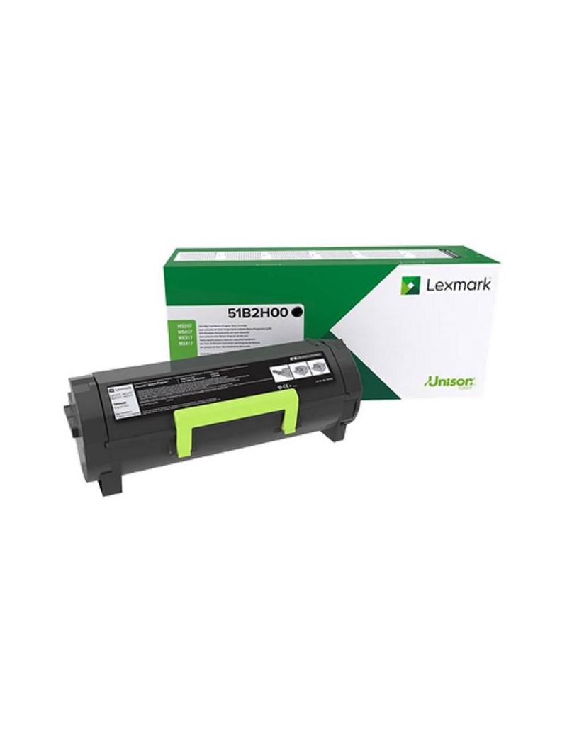 Toner Originale Lexmark 51B2X00 (Nero 20000 pagine)