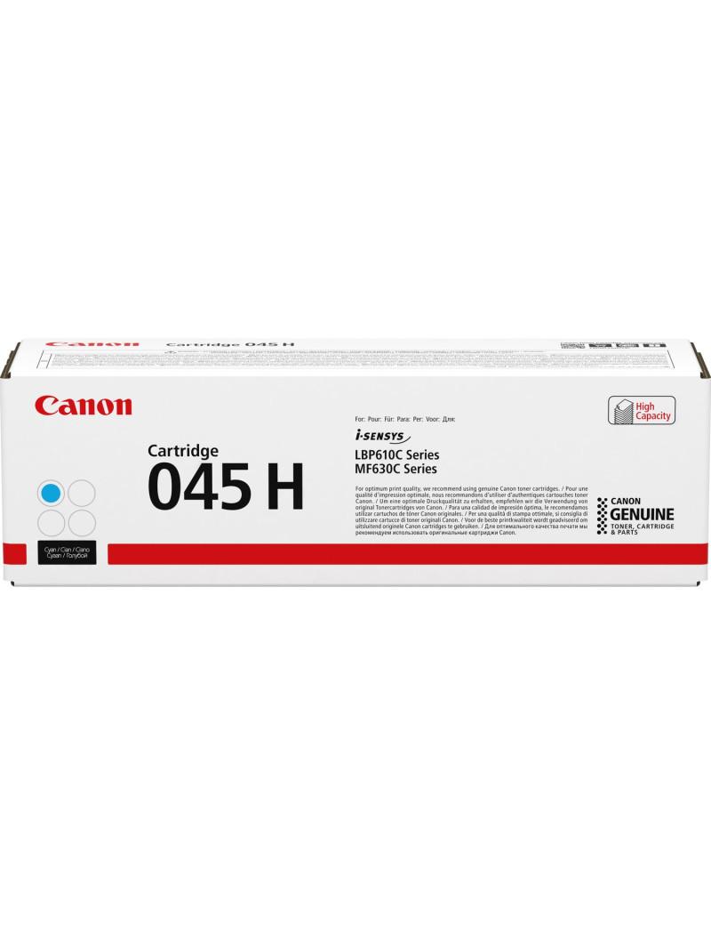 Toner Originale Canon 045hc 1245C002 (Ciano 2200 pagine)