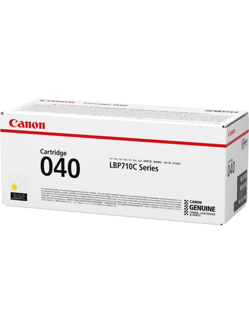 Toner Originale Canon 040y 0454C001 (Giallo 5400 pagine)