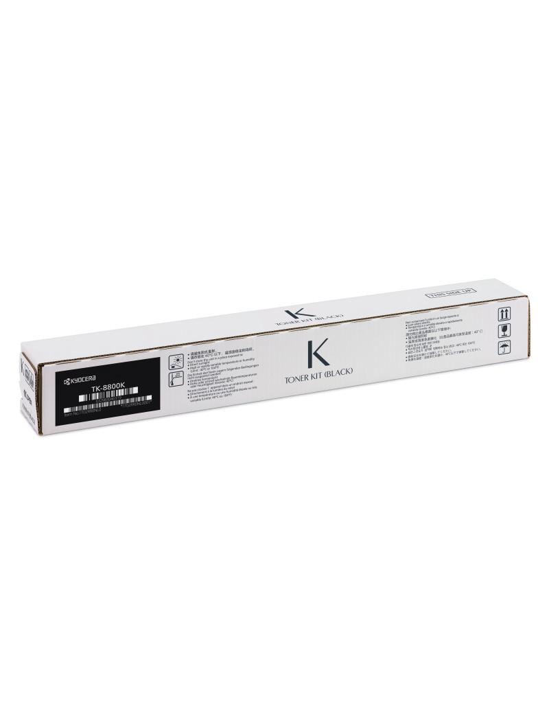 Toner Originale Kyocera TK-8800K 1T02RR0NL0 (Nero 30000 pagine)