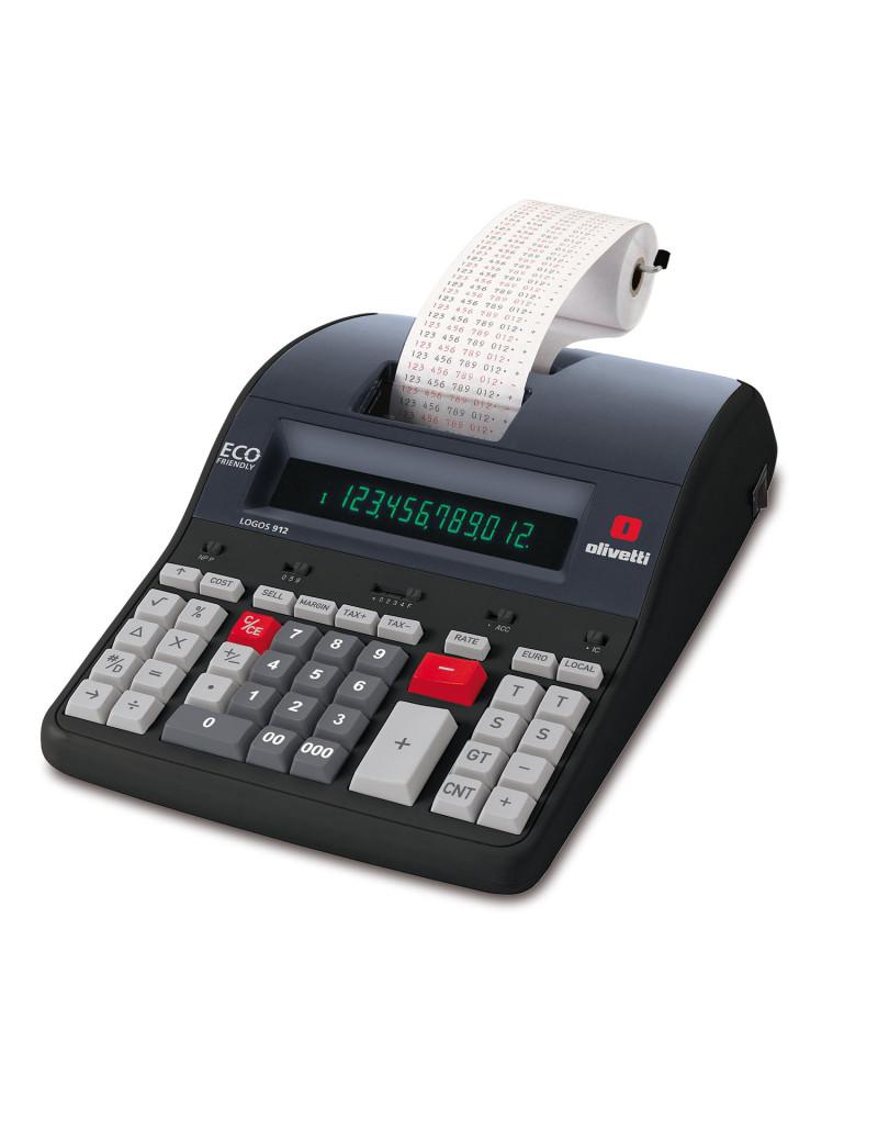 Calcolatrice Scrivente Olivetti Logos 912