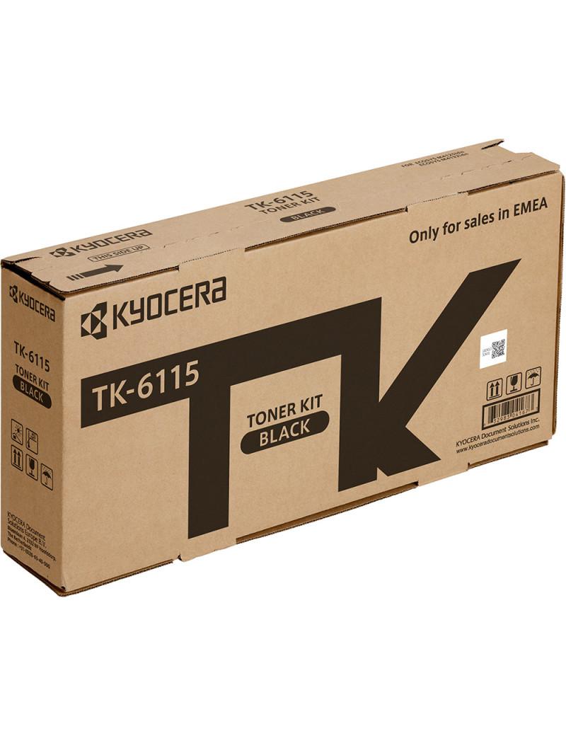 Toner Originale Kyocera TK-6115 1T02P10NL0 (Nero 15000 pagine)