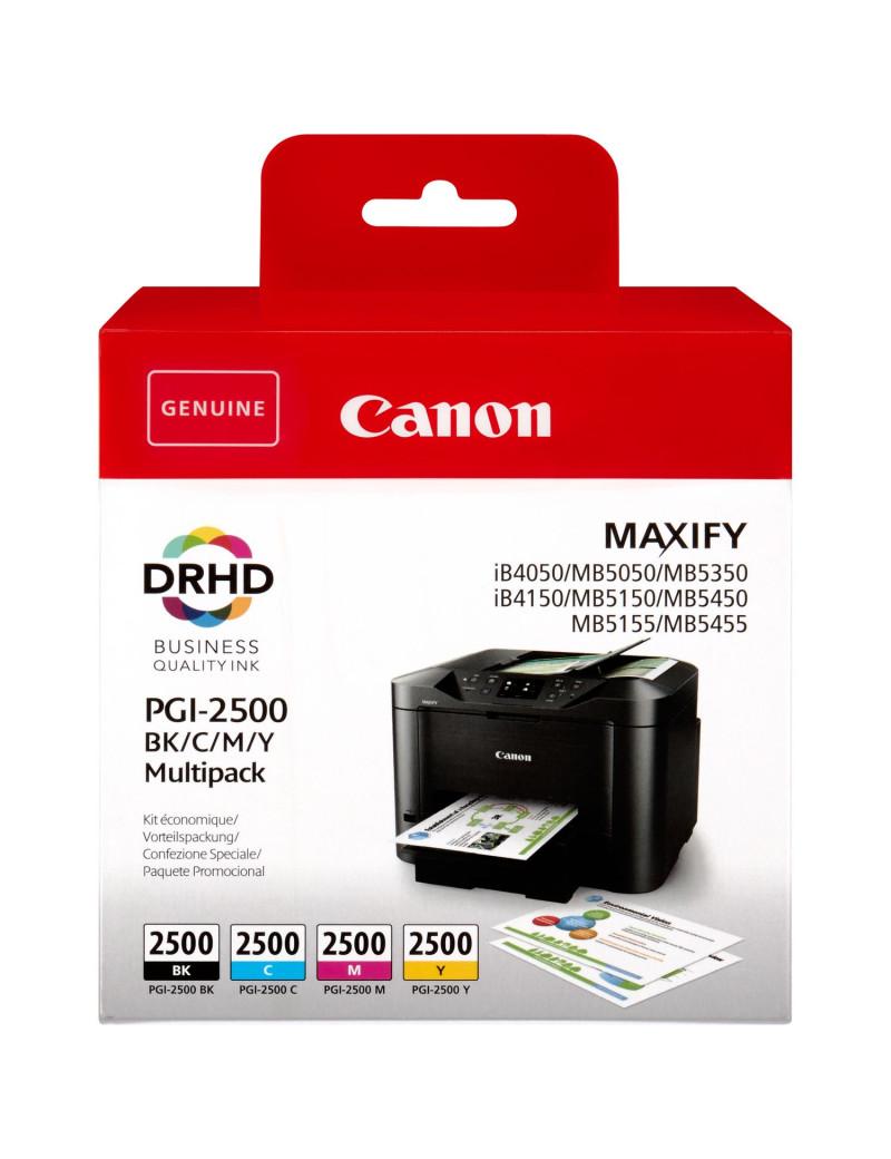Multipack Cartucce Originali Canon PGI-2500 9290B004 (Nero e Colori Conf. 4)