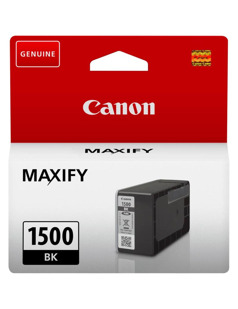 Cartuccia Originale Canon PGI-1500bk 9218B001 (Nero 400 pagine)