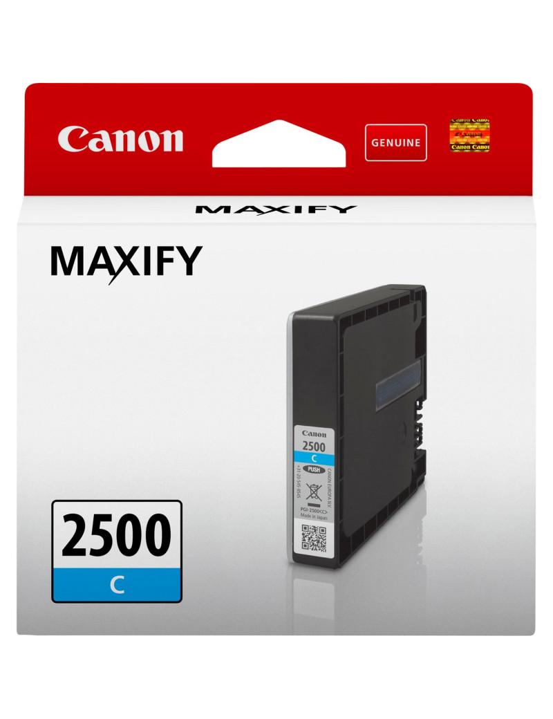 Cartuccia Originale Canon PGI-2500c 9301B001 (Ciano 700 pagine)