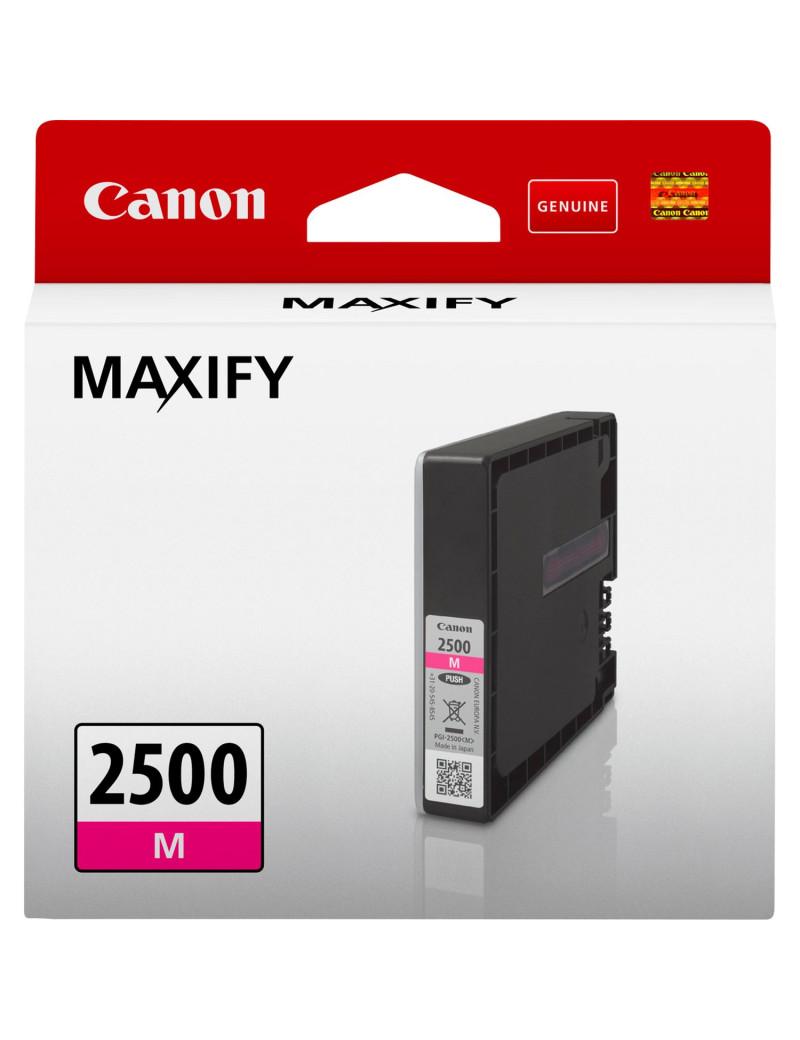 Cartuccia Originale Canon PGI-2500m 9302B001 (Magenta 700 pagine)