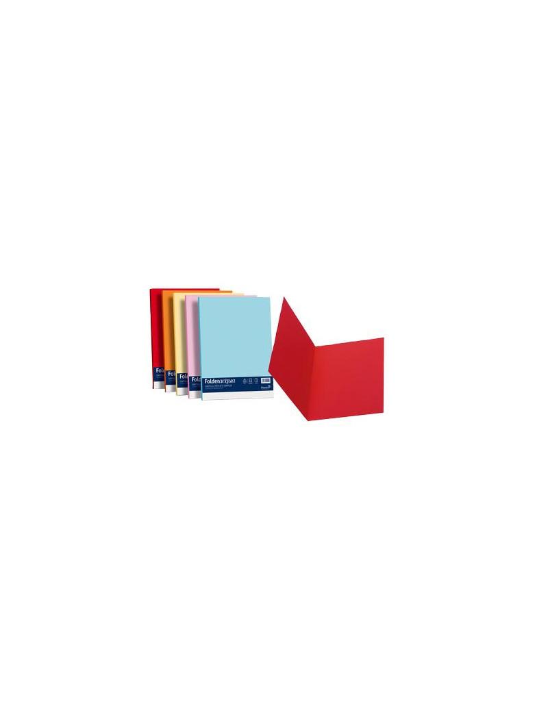Cartellina in Cartoncino Simplex Favini - 25x34 cm - 200 g - A50G664 (Azzurro Conf. 50)