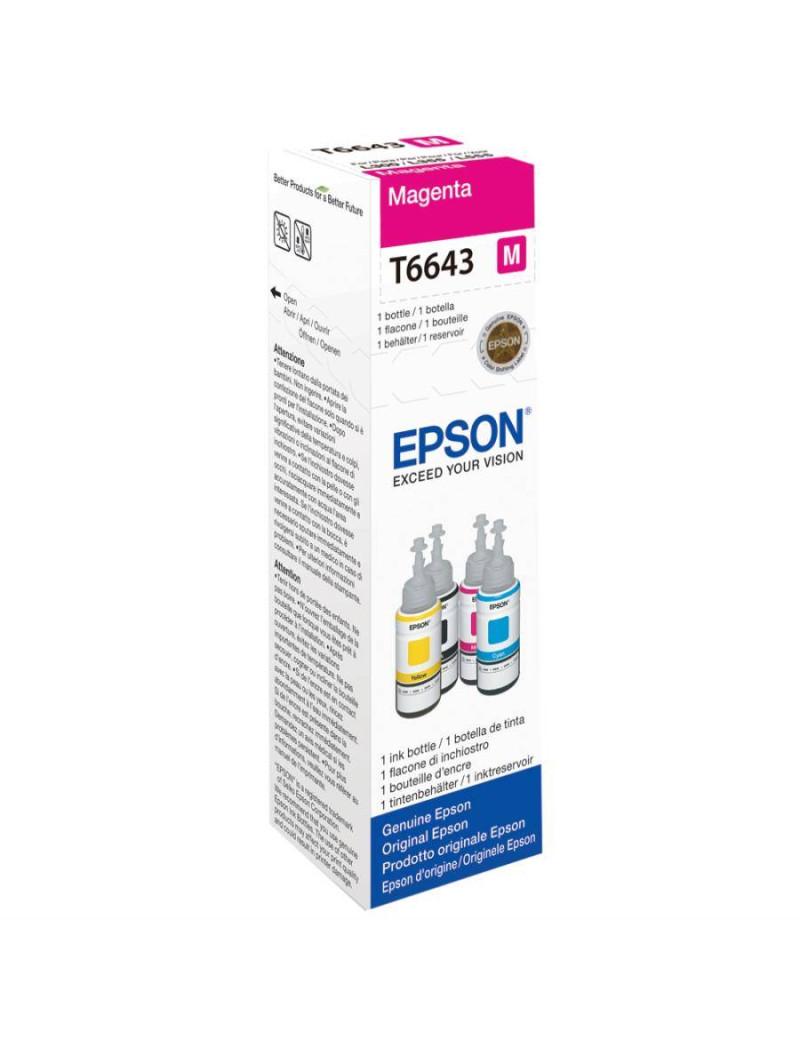 Cartuccia Originale Epson T664340 (Magenta 70 ml)