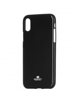 Cover in Silicone Morbido per iPhone X (Nero)