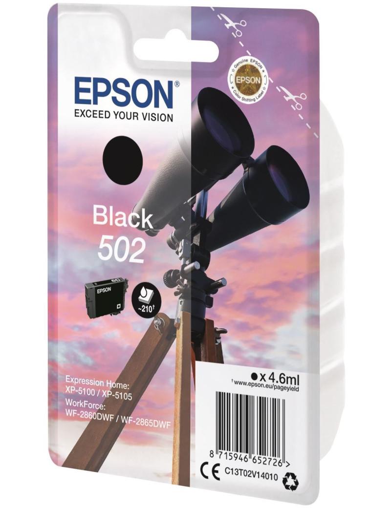 Cartuccia Originale Epson T02V140 502 (Nero 210 pagine)