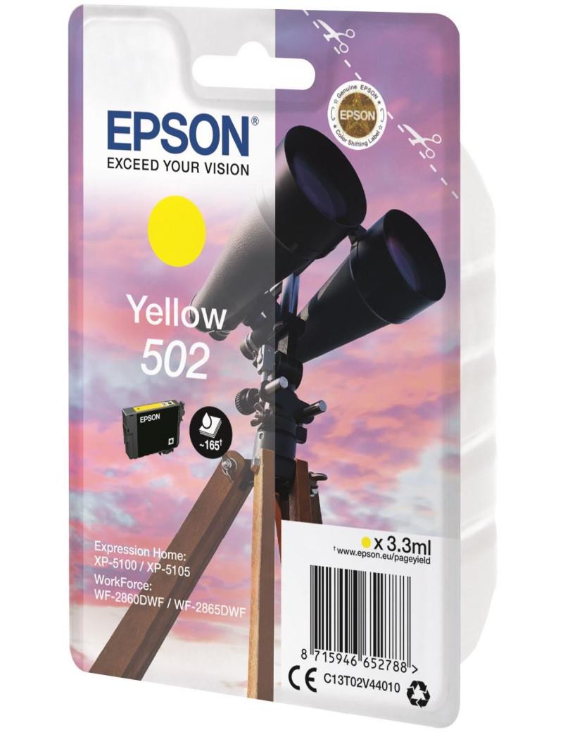 Cartuccia Originale Epson T02V440 502 (Giallo 165 pagine)